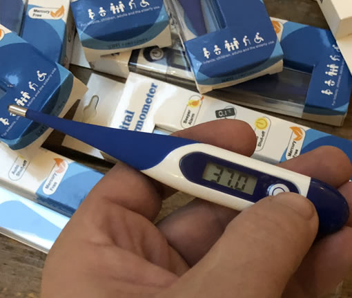 Honden thermometer