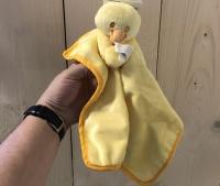 Puppyknuffel geel