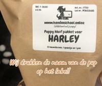 Puppy pakket met naam