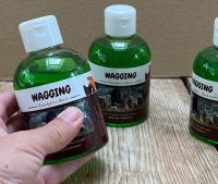 Wagging eucalyptus wash