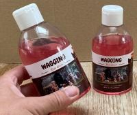 Wagging rose wash