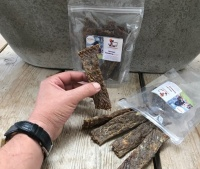 Natuurlijke snacks hond wildzwijn