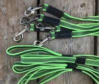 Antislip honden riem 2 meter groen