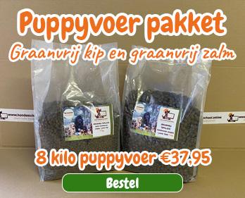 Puppyvoer pakket